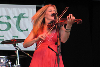 Altan at Milwaukee Irish Fest - August 21, 2011