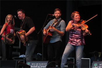 Americana - Irish Style at Milwaukee Irish Fest - August 16, 2015