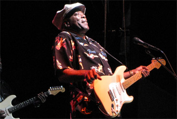 Buddy Guy at the Naperville Last Fling - September  3, 2010