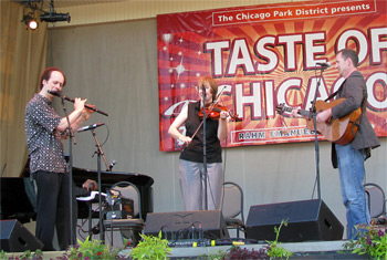 Liz Carroll, John Doyle and John Williams at Taste of Chicago - June 29, 2011