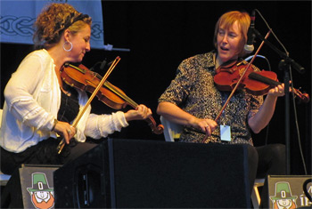 Liz Carroll and Friends at Milwaukee Irish Fest - August 14, 2015