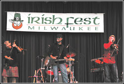 Enter the Haggis at Milwaukee Irish Fest