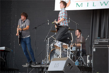 Kintra at Milwaukee Irish Fest - August 21, 2011.  Photo by James Fidler