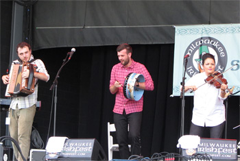Goitse at Milwaukee Irish Fest - August 16, 2015