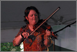 Eileen Ivers at Chicago Irish Fest - July, 2009