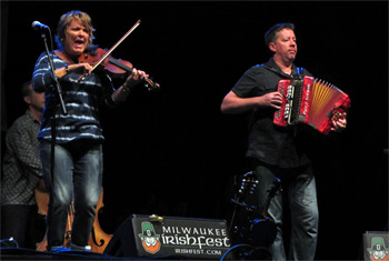 Eileen Ivers at Milwaukee Irish Fest - August 14, 2015