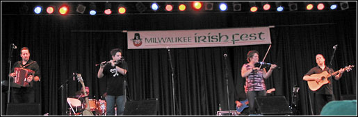 Eileen Ivers at Milwaukee Irish Fest - August 15, 2008