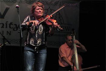Eileen Ivers at Milwaukee Irish Fest - August 15, 2015