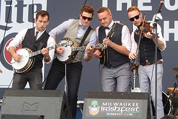 Jig Jam at Milwaukee Irish Fest 2016