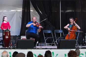 The Next Generation of Leahy at Gaelic Park Irish Fest 2015