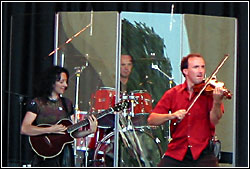Leahy at Milwaukee Irish Fest - Sunday, August 17, 2003