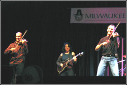 Leahy at Milwaukee Irish Fest 2005 - Saturday, August 20, 2005