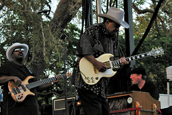 Lonnie Brooks at the Naperville Last Fling - September 4, 2009