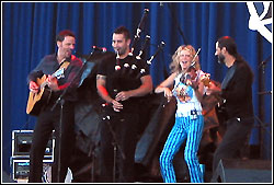 Natalie MacMaster at Milwukee Irish Fest - August 21, 2004