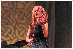 Natalie MacMaster at Chicago Celtic Fest - Sunday, September 17, 2006