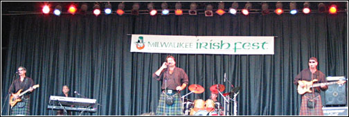 Off Kilter at Milwaukee Irish Fest 2005 - Saturday, August 20, 2005
