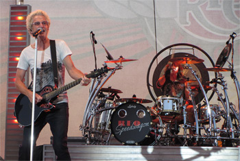REO Speedwagon at Waukesha County Fair 2015