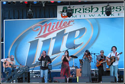 Solas at Milwaukee Irish Fest - August 15, 2008