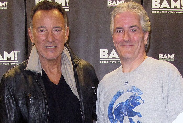 Pat and Bruce Springsteen