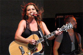 Gretchen WIlson at the Chicago Country Music Festival - October 8, 2010