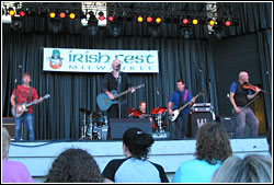 Young Dubliners at Milwaukee Irish Fest